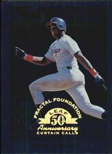 1998 Leaf Fractal Foundations Baseball Card #157 Frank Thomas