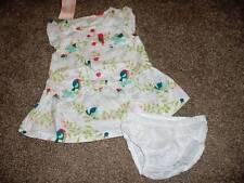 Gymboree Dress Baby Girls 0-3 months Size Birds & Dinos Lovebirds Set NWT NEW