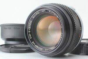 [Rare MINT] OLYMPUS OM-SYSTEM ZUIKO AUTO-S MC 50mm f1.4 MF Lens JAPAN