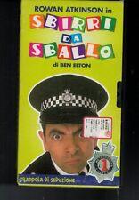 VHS=ROWAN ATKINSON in SBIRRI DA SBALLO=DI BEN ELTON=TRAPPOLA DI SEDUZIONE=VOL.1