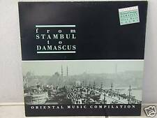 """*****FROM STAMBUL TO DAMASCUS-Oriental Music Compilation*-12""""Inch LP****"""
