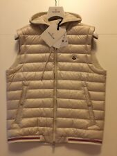 Moncler Herren Daunensweatweste mix  Daune / Sweat 100 % Zertilogo Gr. XL