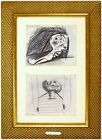 PABLO PICASSO Study For Guernica Signed 1937 Ltd Ed Offset Lithograph In Frame