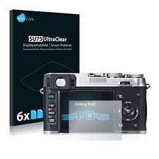6x protector de pantalla Fujifilm finepix s1600 lámina protectora claro lámina protector de pantalla