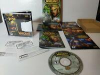 Lot World of Warcraft PC Burning Crusade Complete Warcraft Battle Chest Exp pk