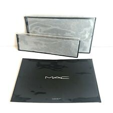 MAC Cosmetic Clear Bag Set of 2 - New