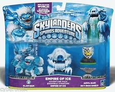 Skylanders EMPIRE OF ICE 3-Pack Character SLAM BAM Anvil Rain Spyros Adventure