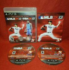 MLB 2K13/NBA 2K13 Combo Pack (Sony PlayStation 3 PS3, 2013)