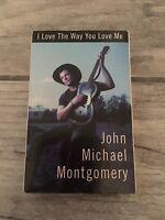 John Michael Montgomery I Love The Way You Love Me  Cassette Single VTG 1992 AQ