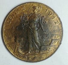 REGNO D'ITALIA V.E. III 2 centesimi 1912 Italia su prora Rara
