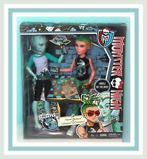 ❤️NEW Monster High Mansters Deuce Gorgon Gil Webber Boy 2-Pack Doll NIB Set❤️