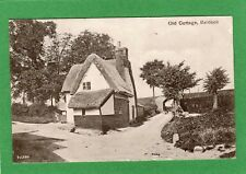 Old Cottage Baldock Railway Bridge pc used 1909 Valentines Ref G530