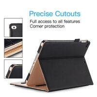 """TAN BLACK Magnetic Leather Smart Stand Case Cover For APPLE MINI 1/2/3/4/5 7.9"""""""