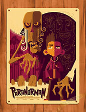 TIN SIGN ParaNorman Art Painting Zombie Movie Poster