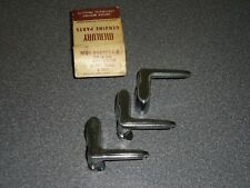 Lot of (3) Factory 1957 Mercury Wing Vent Quarter Window Handle MHK-6422916-C