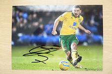 Signed Colour Pictures- Robert Snodgrass, Scottish professional footballer (7x5)