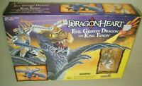 DRAGONHEART Evil Griffin Dragon King Einon Figure 1996 Kenner Set MIB BRAND NEW