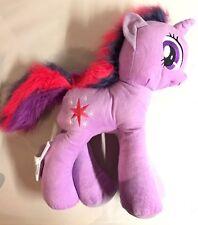 "New My Little Pony Twilight Sparkle Large Plush 18"" Purple Pink Unicorn Toy MLP"