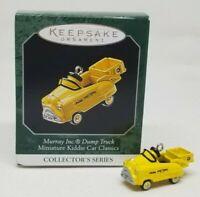 Hallmark 1998 Kiddie Car Classic miniature 4 in series Christmas ornament metal