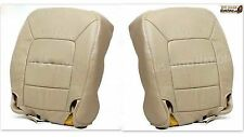 2003 04 05 2006 Ford Expedition Driver & Passener Bottom Leather Seat Cover Tan