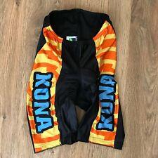 Kona Parentini rare vintage cycling shorts size M