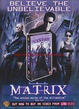 The Matrix HMV 2000 Magazine Advert #7696