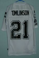 SAN DIEGO CHARGERS #21 LaDAINIAN TOMLINSON JERSEY REEBOK SEWN ADULT M
