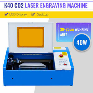 UPGRADE OMTech 40W CO2 Laser Cutter Engraver 12x8in Cutting Engraving Machine