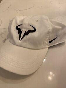 NWT Nike Rafael Nadal Heritage86 Dri-Fit Strapback Aerobill Tennis Hat Cap *H9