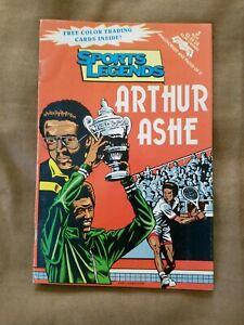 "1993 Revolutionary Comics Sports Superstars ""ARTHUR ASHE"" w/Trading Cards"