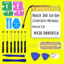 For Motorola Watch 360 1st-Gen Smart Watch Battery Snn5951A Wx30 Replace 320mAh