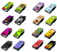 Design Book Handy Tasche Hülle Etui Schutz Auswahl 2 für Samsung Galaxy S2 i9100