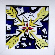 DALI >Die Sonne< 1954, 24cm Signed, limit. 3.000, NEU, handbemalt Kachel, Fliese