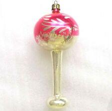 Selten Antiker Russen Alter Christbaumschmuck Glas Weihnachtsschmuck Stehlampe