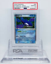 Pokemon EX CRYSTAL GUARDIANS KYOGRE EX #95 HOLO FOIL PSA 10 GEM MINT #28385857