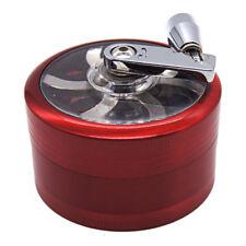 """2.4"""" 3 Piece Tobacco Herb Spice Crusher Hand Crank Grinder GR71-3-60"""