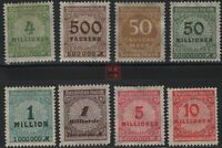 German Stamps -- Germany 1923 Perf 14 Stamps