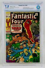 FANTASTIC FOUR #100 CBCS 7.5 Hulk Dr. Doom Sub-Mariner Jack Kirby Key Not CGC