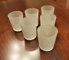 New ListingSet of 12 Eastland Frosted Votive Candle Holders (Frosted Glass) for Wedding etc