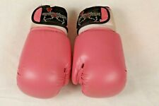 I Love Kickboxing Mma Boxing Style Gloves Pink 12 oz Great for Beginners To Try