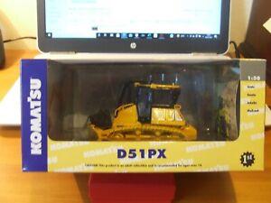 First Gear 50-3133 Komatsu D51PX Tracked Dozer, 1:50, BNIB