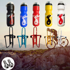 ae04340f457 750ML Mountain Bike Bicycle Cycling Water Drink Bottle and Holder Cage  Portable