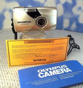 Olympus Stylus Epic DLX 35mm Point & Shoot Film Camera