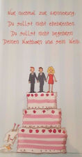 03 Zur Hochzeit Vermählung Ehe Eheschliessung Glückwunschkarte Grußkarte Torte