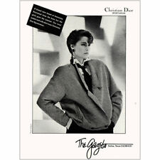 1984 Christian Dior: New Breed of Femininity Vintage Print Ad