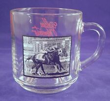 Golden Moments Golden Gate Fields Horse Racing Mug Cup Green Alligator Triumphs