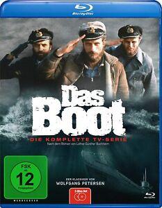 Das Boot (Das Original TV-Serie)[Blu-ray/NEU/OVP] Uncut von Wolfgang Petersens