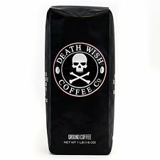 Death Wish Ground Coffee, The World's Strongest Coffee, Fair Trade and USDA C...