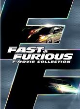 Fast & and Furious 1-7 Complete 7 MOVIE Collection DVD Box Set 8-Disc New Sealed