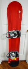ROSSIGNOL NOMAD SNOWBOARD SIZE 129 CM WITH MEDIUM SALOMON BINDINGS WITH BAG